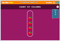 Count by row / column 5-10