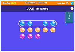 Count by row / column 10-13